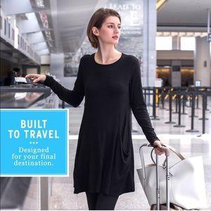Betabrand Built to Travel Dress